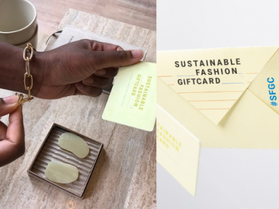 sustainable fashion gift