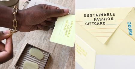 sustainable fashion gift